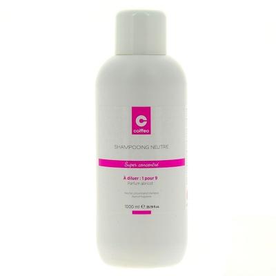 Shampooing Neutre Super Concentré Coiffeo 1 Litre