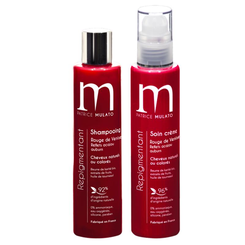Duo Shampoing & Soin Repigmentant Rouge de Venise Mulato