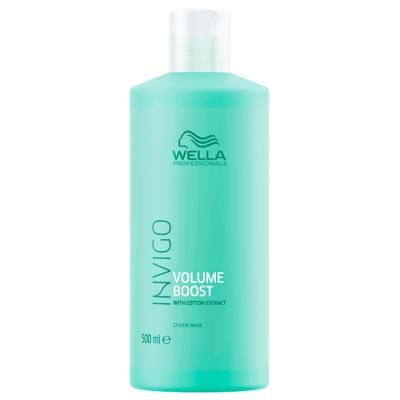 Masque Crystal Volume Boost Invigo Wella 500 ML