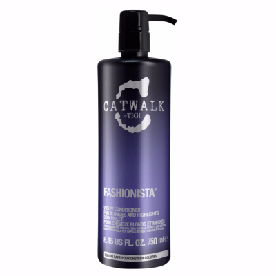 Shampoing Violet Fashionista Tigi Catwalk 750 ML