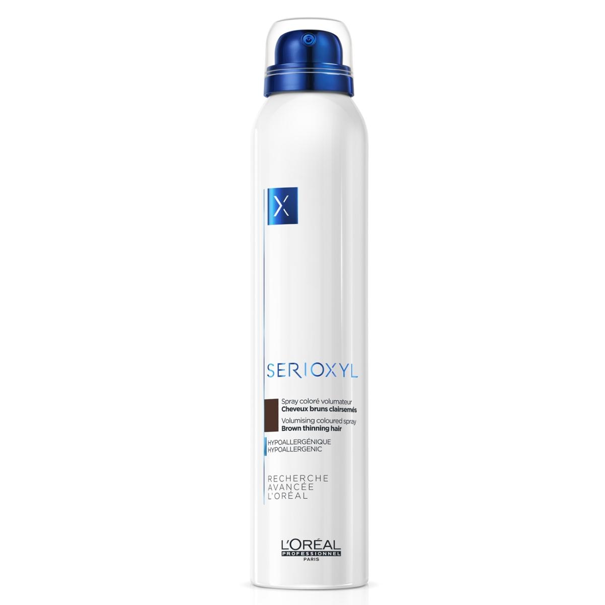 Spray Colorés Volumateur Brun Serioxyl 200 ML