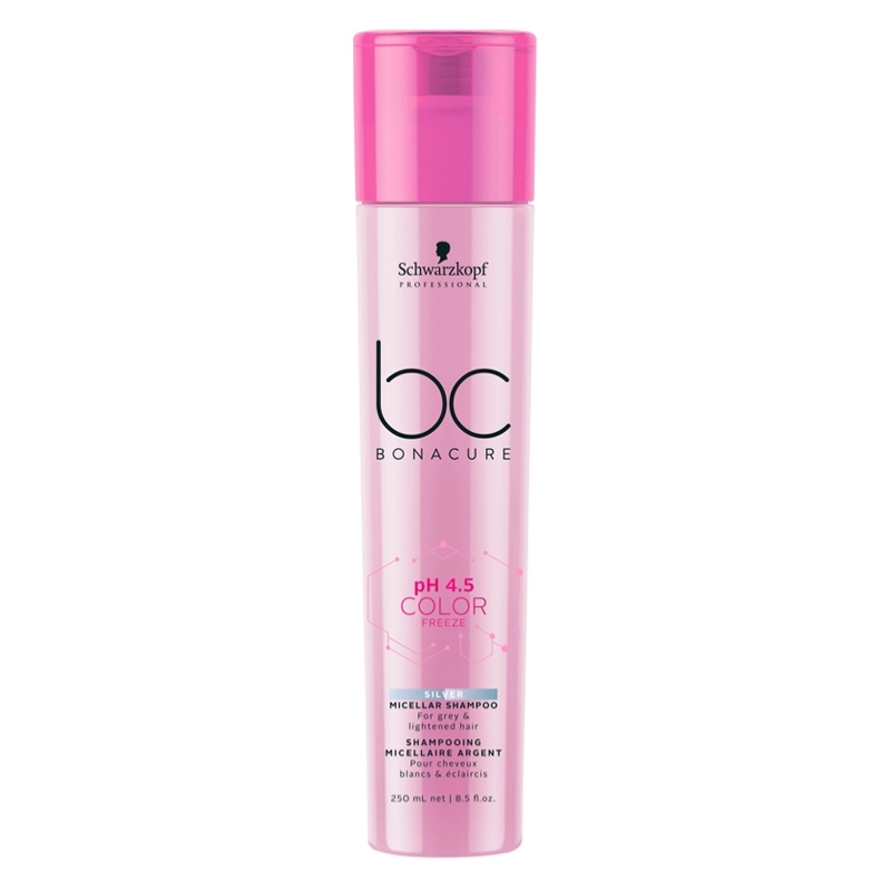Shampoing BC PH 4.5 Color Freeze Silver Schwarzkopf 250 ML