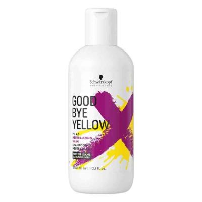 Shampoing Good Bye Yellow Schwarzkopf 300 ML