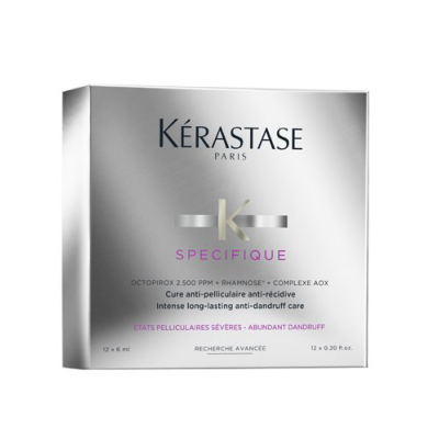 Cure Anti-Pelliculaire Anti-Récidive Kérastase 12X6 ML
