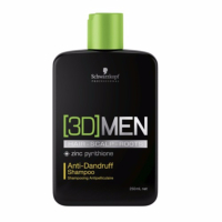 Shampoing Antipelliculaire [3D]MEN Schwarzkopf 250 ML