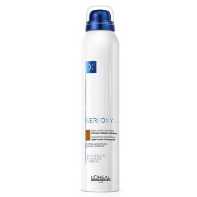 Spray Colorés Volumateur Châtain Serioxyl 200 ML
