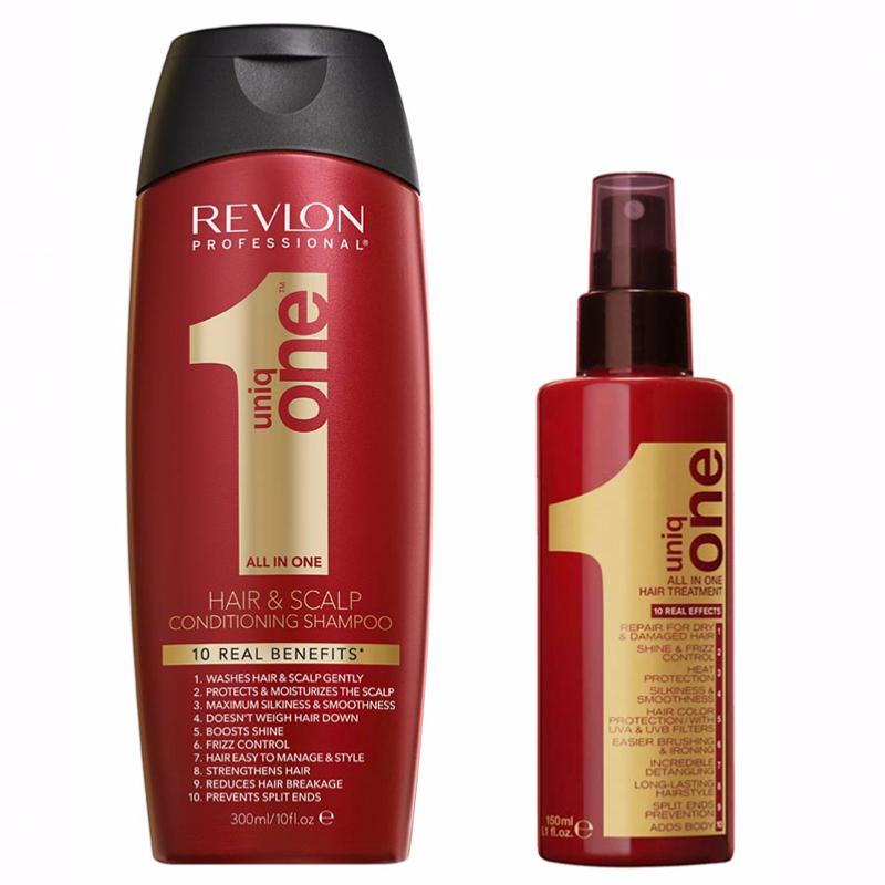 Duo Shampoing + Spray Revlon Uniq One
