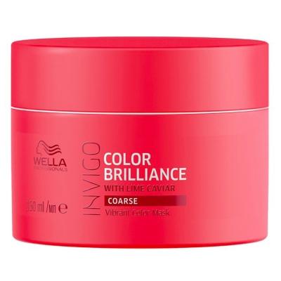 Masque Color Brilliance Invigo Cheveux Épais Wella 150 ML