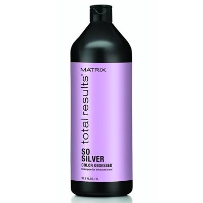 Shampoing Total Results So Silver Matrix 1 L
