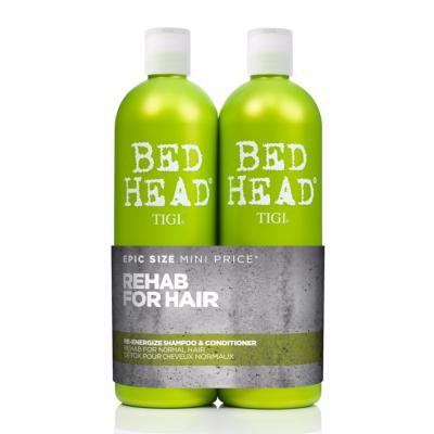 Re-Energize Conditioner + Shampoing Tigi Bed Head 750 ML