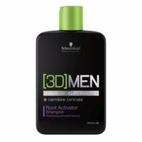 Shampoing Stimulant [3D]MEN Schwarzkopf 250 ML