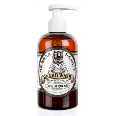Shampoing à Barbe Wilderness Mr Bear Family 250 ML