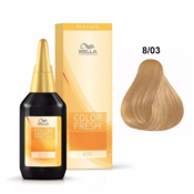 Color Fresh Wella 8/03 Blond Clair Naturel Doré 75 ML