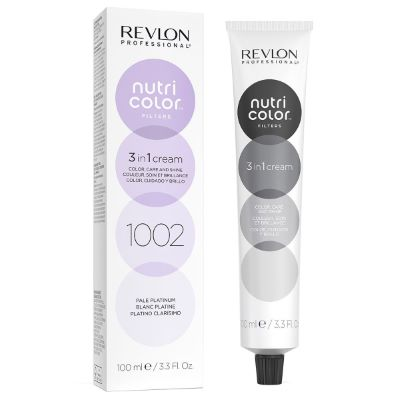 Tube Nutri color filters 1002 Blanc Platine Revlon 100 ML