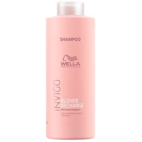 Shampoing Blonde Recharge Invigo Wella 1L