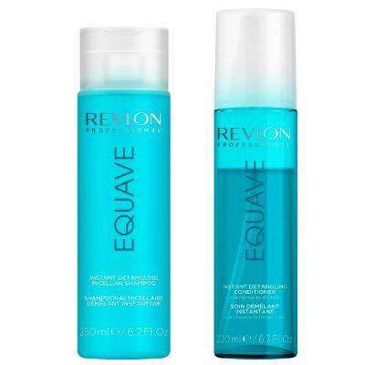 Duo Revlon Spray + Shampoing Equave