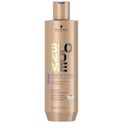 Shampoing Neutralisant Cool Blondes Blond Me Schwarzkopf 300 ML