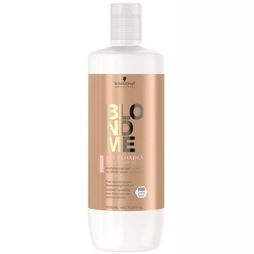 Shampoing Purifiant Detox Blond Me Schwarzkopf 1 Litre