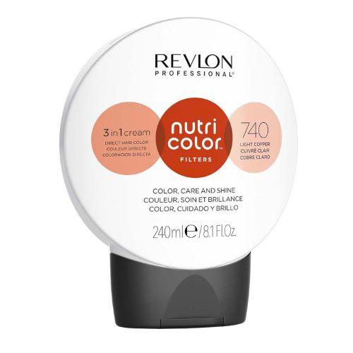 Nutri color filters 740 Cuivré Clair Revlon 240 ML