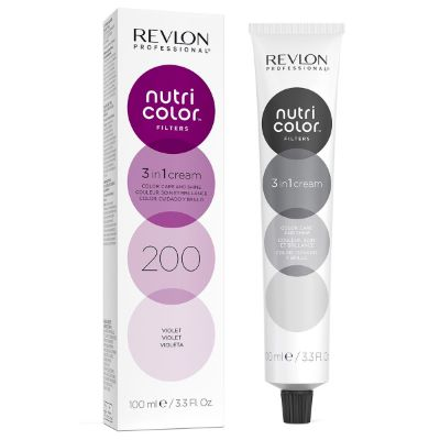 Tube Nutri color filters 200 Violet Revlon 100 ML