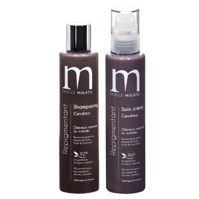 Duo Shampoing & Soin Repigmentant Cendreur Mulato