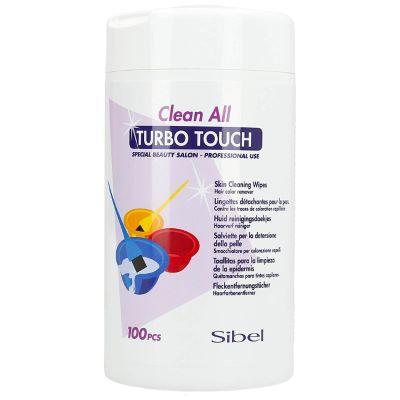 Lingettes Détachantes Turbo Touch 100 Pcs