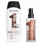 Duo Shampoing + Spray Revlon Uniq One Coconut