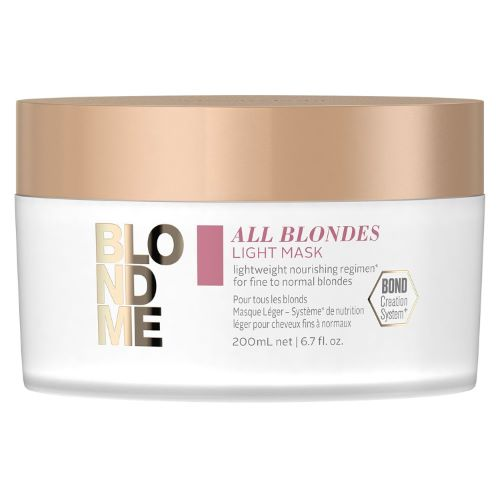 Masque Light All Blondes Blond Me Schwarzkopf 200 ML