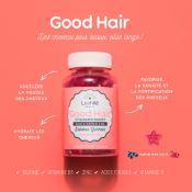Boite 60 Gummies Végans Good Hair Lashilé Beauty
