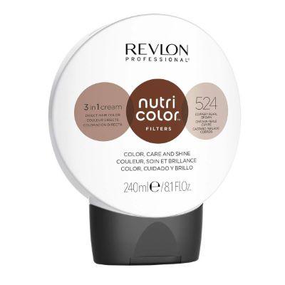 Nutri color filters 524 Châtain Cuivré Perlé Revlon 240 ML