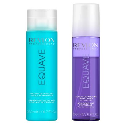 Duo Revlon Spray + Shampoing Equave Blonde