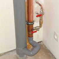 Récupérateur de chaleur vertical ReQup-Plus QB1