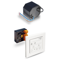 Kit électrique avec commande digitale LUNOS