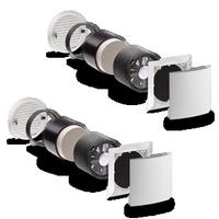 Kit VMC double-flux (chambre, séjour) 2 modules e² LUNOS