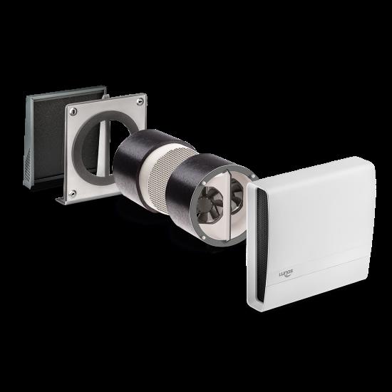 Kit VMC double-flux (salle de bain, cuisine) eGO LUNOS