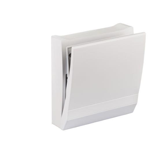 Grille intérieure design LUNOS en ABS avec filtre F7