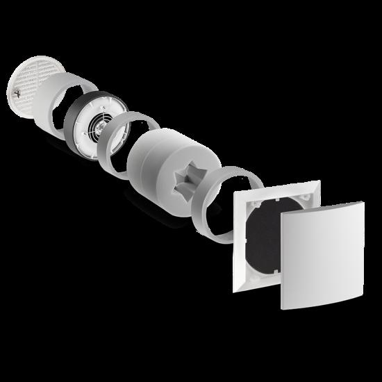 Kit VMC simple-flux RA15-60 LUNOS (spécial Tiny House)