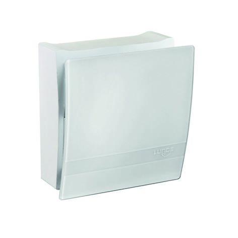 Grille intérieure design en verre opale avec filtre F7