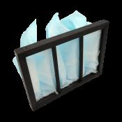 Filtre à poches G4 pour caisson préfiltre ALDES