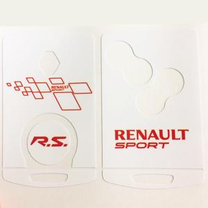 Renault sport 01 Blanche-Rouge