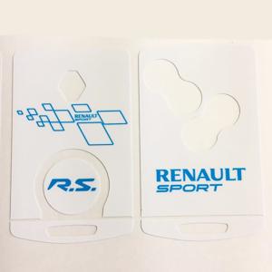 Renault sport 01 Blanche-bleu