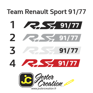 Team Renault Sport 91/77