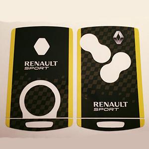 Renault sport 02 Jaune