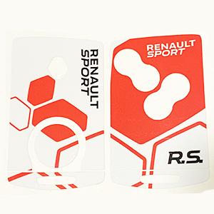 RS16 V2 Blanc Rouge