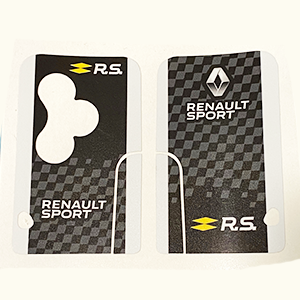 Renault Sport 02 Blanc 3bts