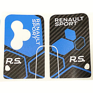 RS16 bis Carbone Bleu 3bts