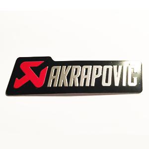Logo Badge Aluminium Akrapovic