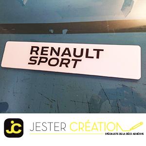 New Renault sport Blanc