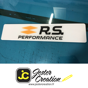 Rs Performance Blanche