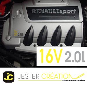 Sticker 2,0L 16V